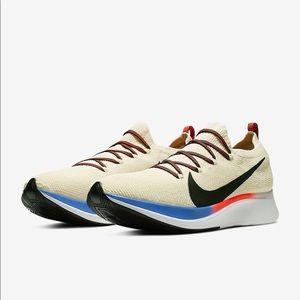 Nike Zoom Fly Flyknit Men's Light Cream Shoes